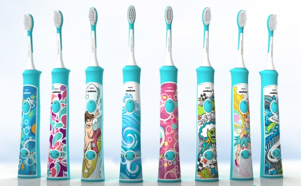 электрощетка зубная для детей