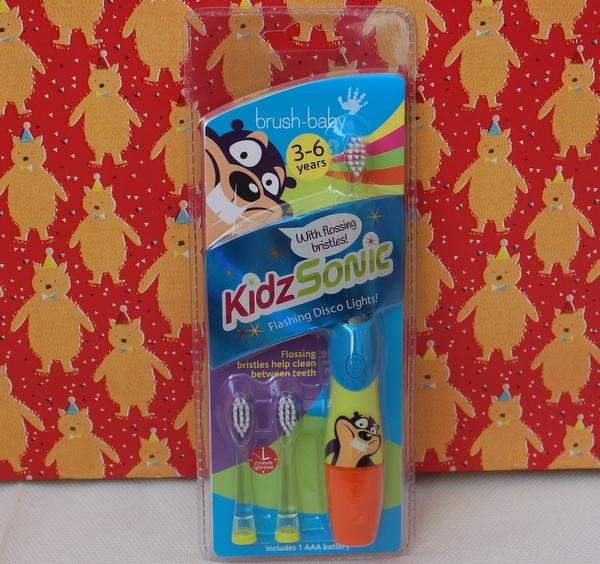 электрическая зубная щетка Brush-Baby KidzSonic