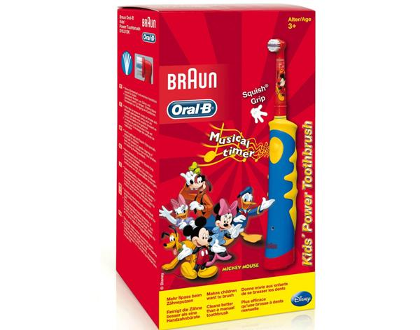 электрическая зубная щетка Braun Oral-B Kids Power Toothbrush