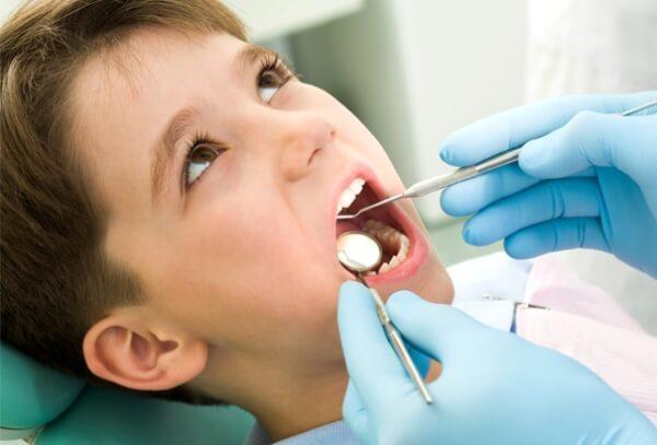 лечение абсцесса десны молочного зуба