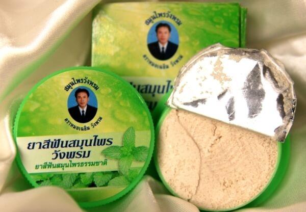 свойства зубных паст из таиланда