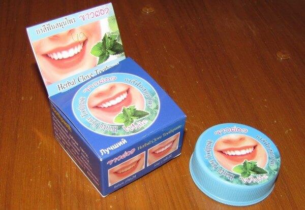 тонизирующие компоненты зубной пасты