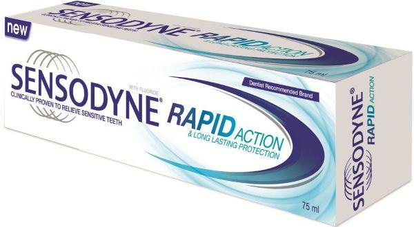 зубная паста Sensodyne Rapid Whitening