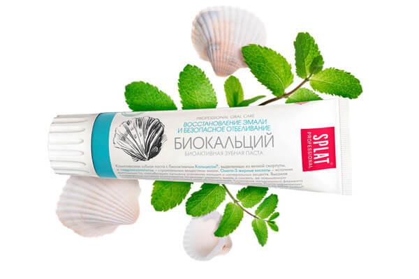 зубная паста фирмы Сплат Биокальций