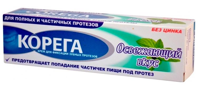 корега: крем для фиксации зубных протезов является неотъемлемой частью для удобства