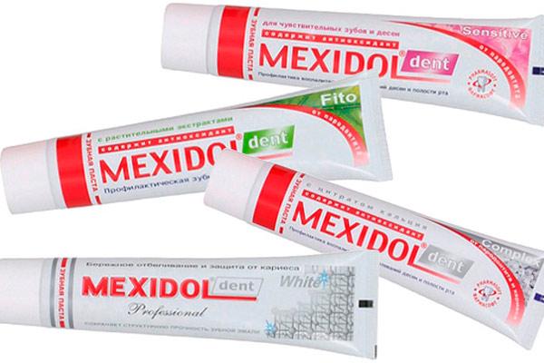 линейка продукции мексидол