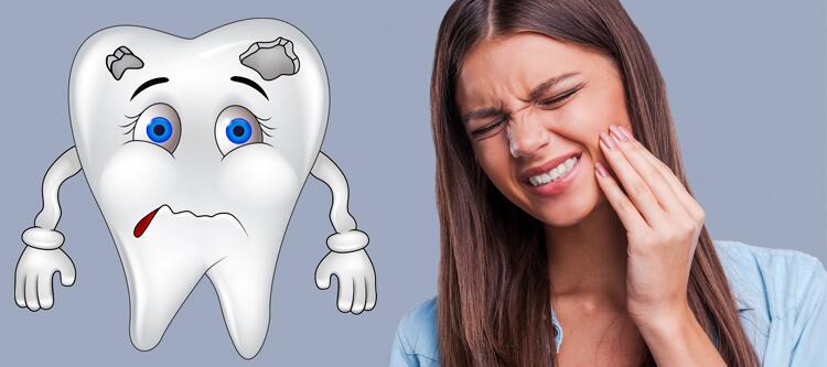 леченый гуттаперчевым штифтом зуб реагирует на холодное и горячее