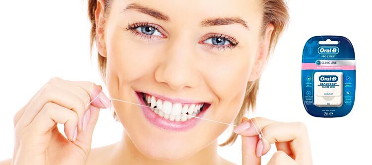 в каких видах выпускается зубная нить орал би