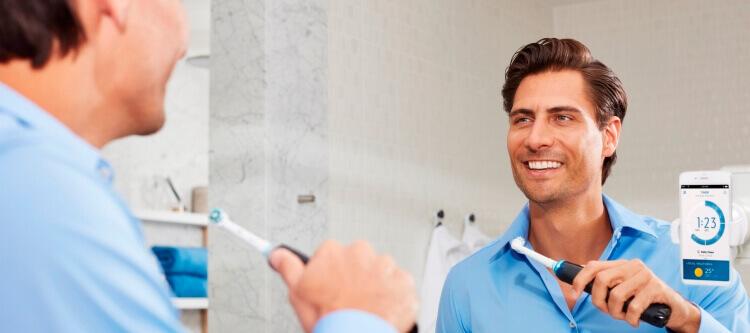инновационная зубная щетка Орал Би