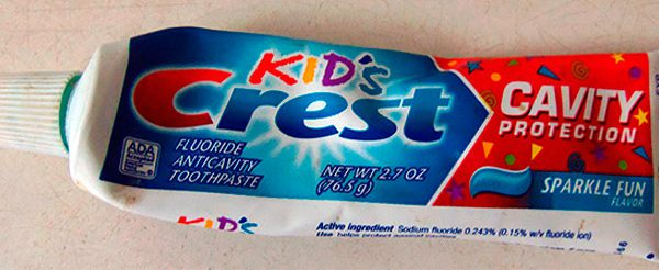 специальная паста для детей