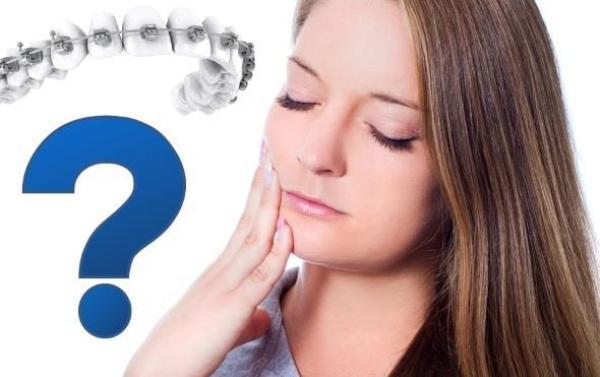 Рекомендации по устранению боли в период привыкания к брекетам