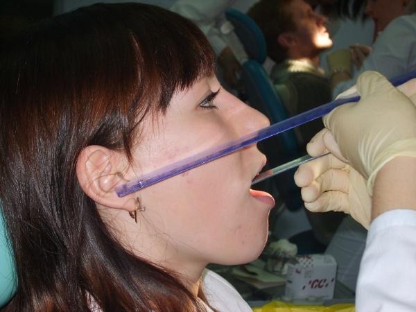 Определение центральной окклюзии при частичном отсутствии зубов