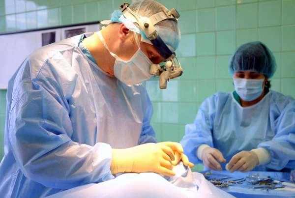 Техника проведения секвестрэктомия нижней челюсти
