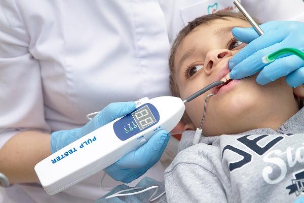 Электроодонтометрия зубов