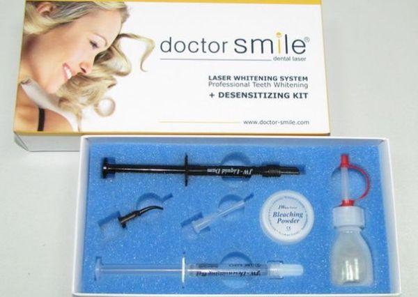 Лазерное отбеливание doctor smile
