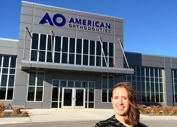 American orthodontics производство брекет систем