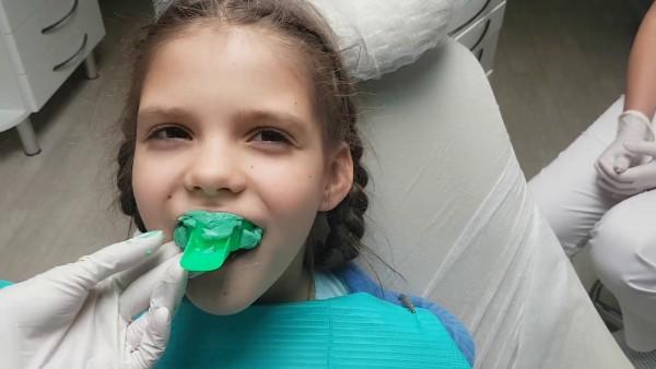 Изготовление аппарата персина ортодонтия