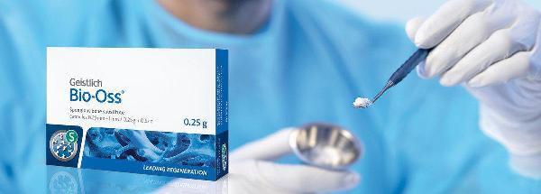 Как работает костный материал Bio Oss