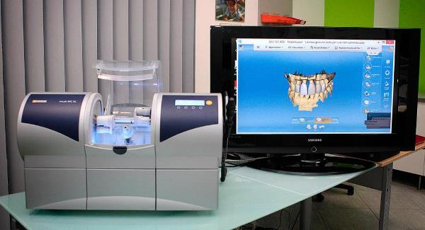 Cad Cam системы в стоматологии