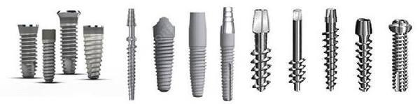 Титановые импланты для зубов цена