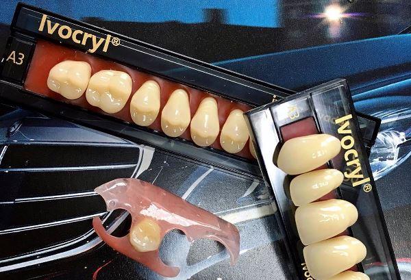 Как изготавливаются зубы Ivocryl