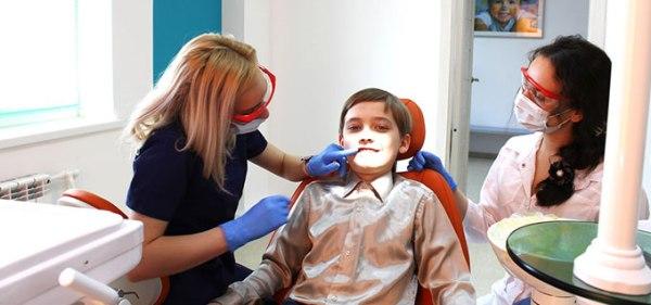 Коррекция аномалии у детей
