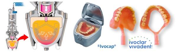 Полный съемный протез ivocap