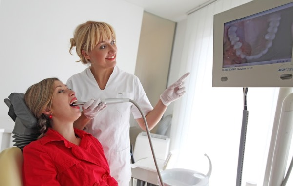 Интраоральная камера в стоматологии