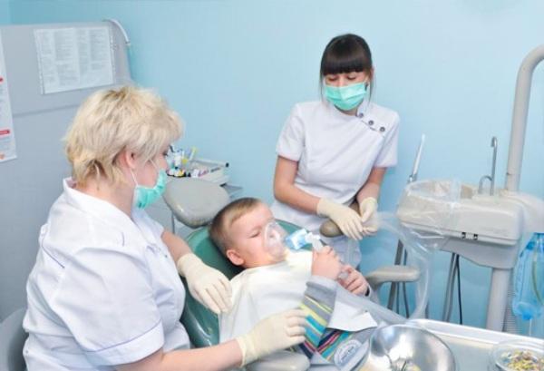 Принцип действия Севорана при лечении детей в стоматологии